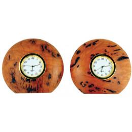 Red Gum Desk Clock