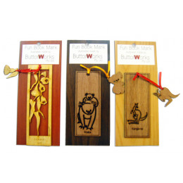 Timber Bookmarks