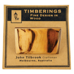 Timber Brooches