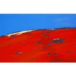 'On a Mallee Sand Dune' 60cm x 90cm